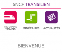 Application Transilien