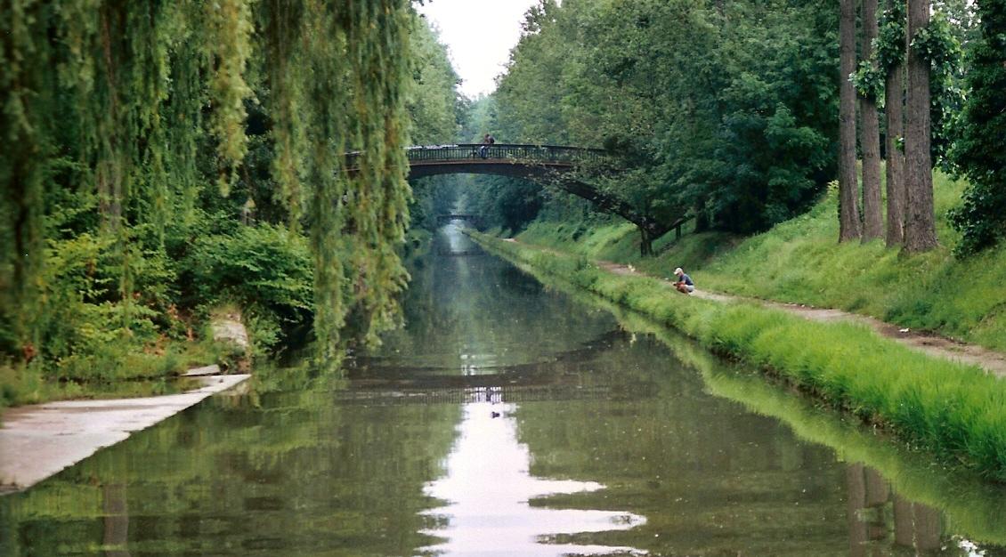 Canal de l'Ourcq patrimoine ligne P