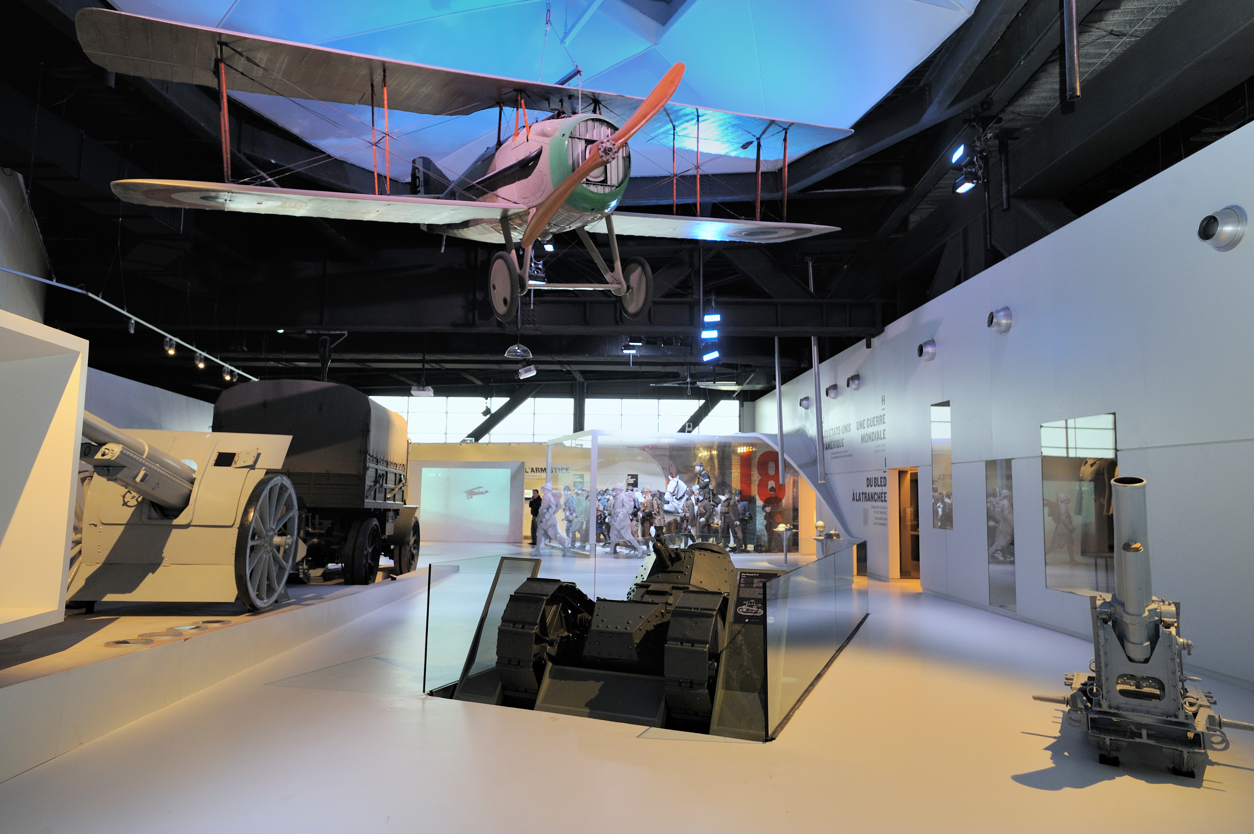 Photo du Musée de la grande guerre du pays de Meaux ligne P