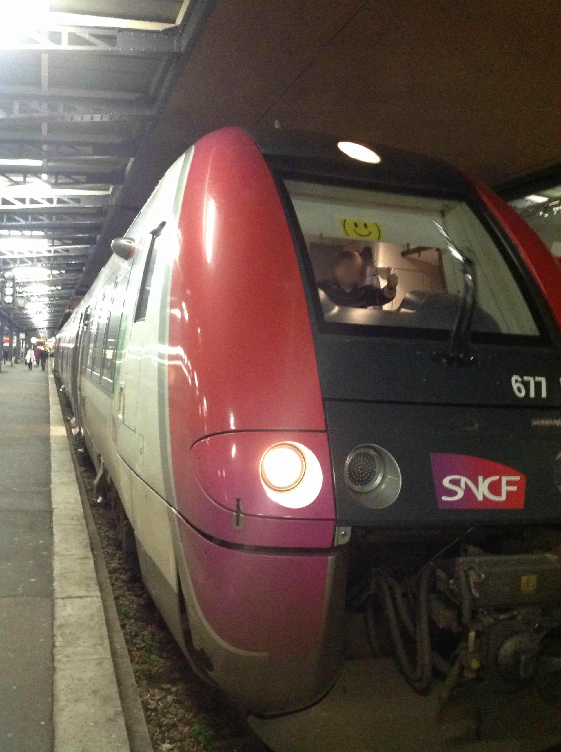 photo du train de SmileyTrains ligne P interview