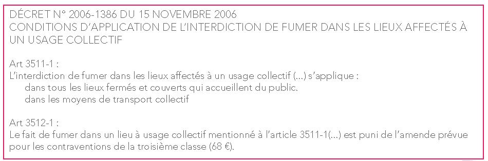 Décret 2006 1386