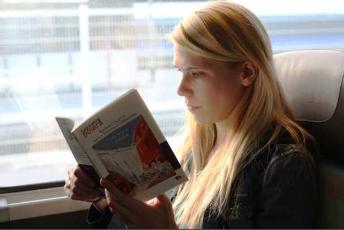 Le livre aime le train