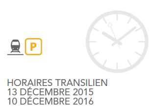 de nouveaux horaires 224 partir du 13 d 233 cembre 2015